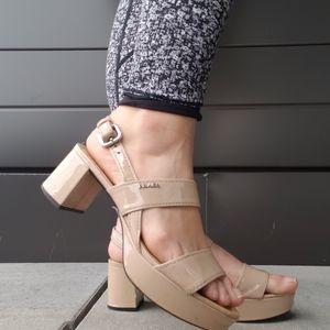 authentic prada patent sandals